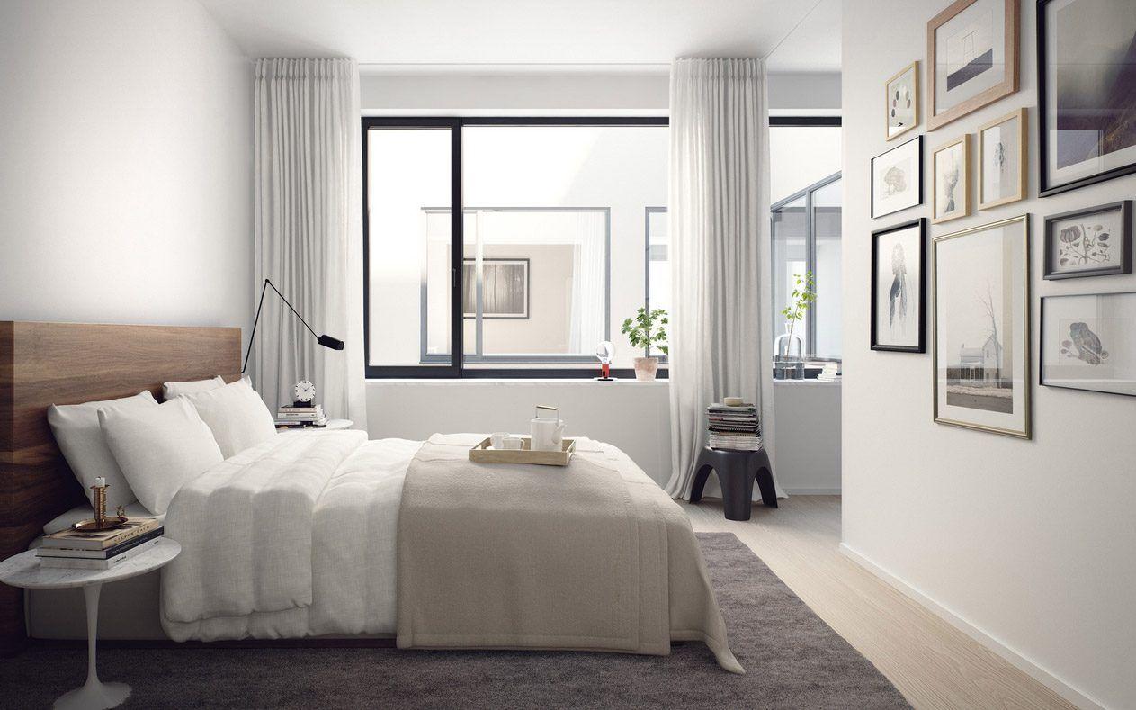 Habitación de matrimonio escandinava | Bedroom (habitación ...