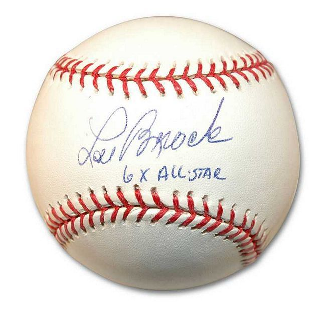 Autographed Lou Brock Mlb Baseball Inscribed 6X All Star - Buy for $102.95 at www.ItsAlreadySigned4U.com