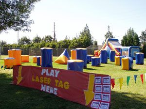 Kiddie Amusements Inc Bakersfield Ca Laser Tag Laser Tag Party Perfect Halloween Party