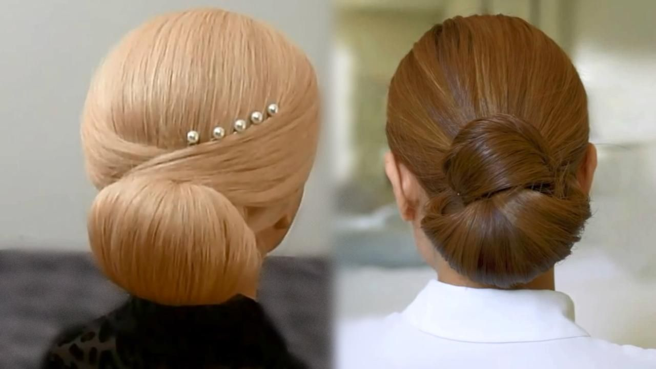 wrap around side bun tutorial - video dailymotion | shenova
