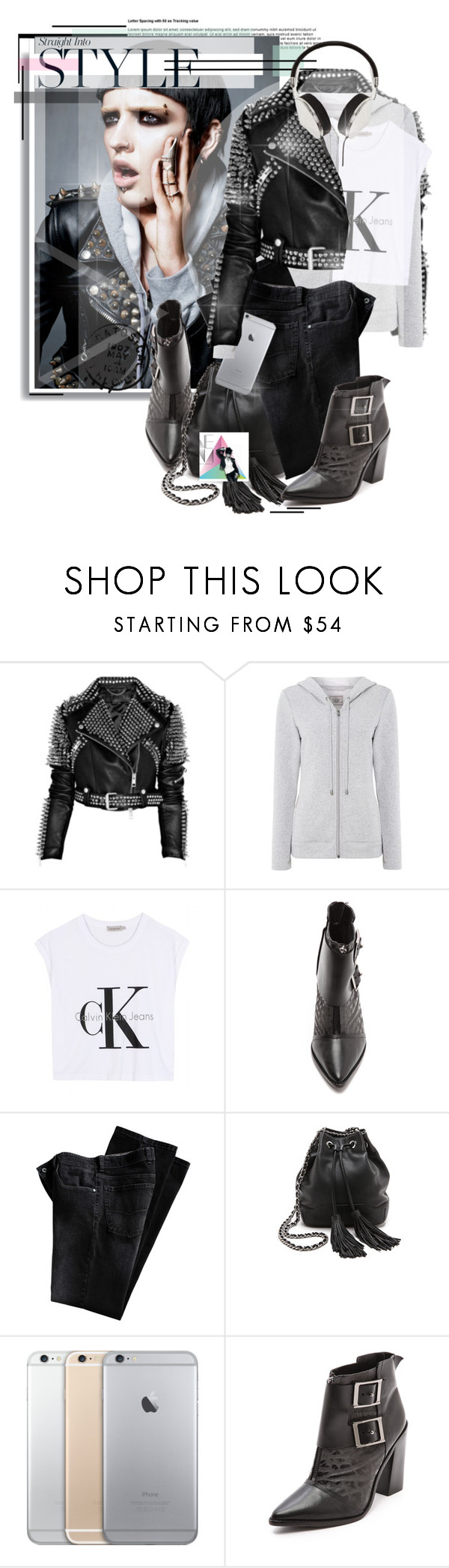 """The Rocking Moods!!"" by sg-art ❤ liked on Polyvore featuring UGG Australia, Calvin Klein Jeans, TIBI and Frends"