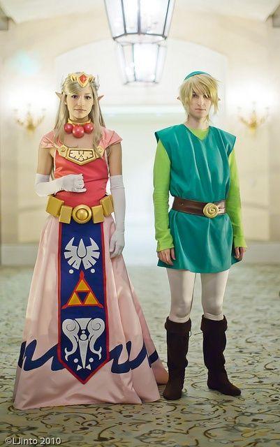 a690bcabf5 Zelda Spirit Tracks toon Zelda  amp  Toon Link cosplay group at Fanime by