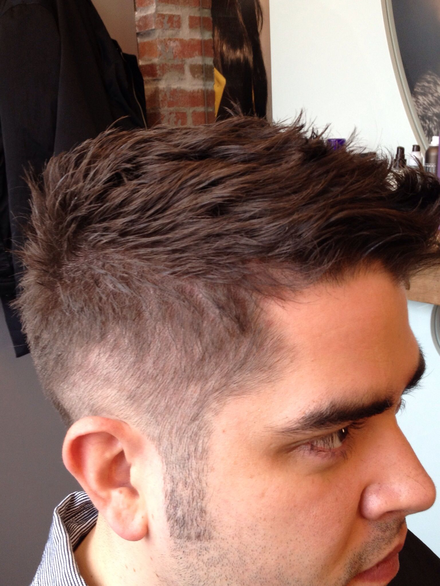 Admirable Mens Fade Texture Is Amazing Love This Mens Hair Cuts Hairstyle Inspiration Daily Dogsangcom