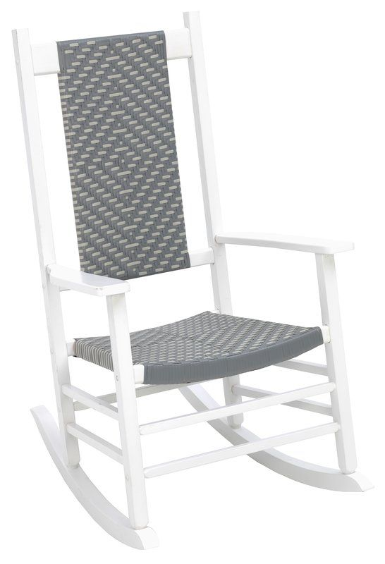 Aren Woven Rocking Chair In 2020 Outdoor Rocking Chairs Rocking Chair Wicker Rocking Chair