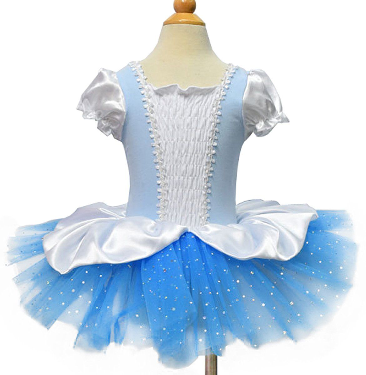 46d82a58e Moonight Girls Cinderella Short Sleeve Tutu Ballet Party Dresses ...