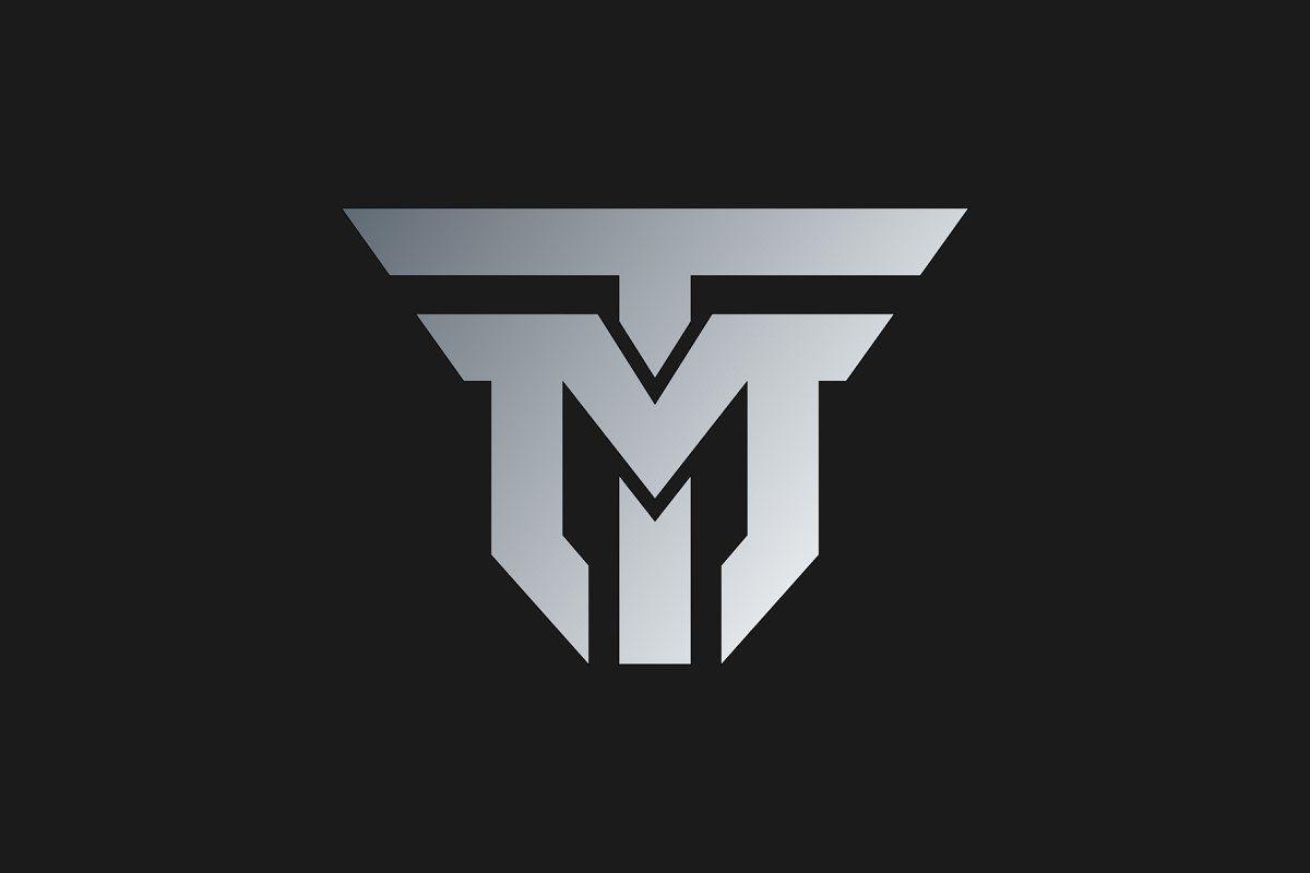 Initial Letter Tm Logo Template Logo Templates Initial Letters Logo Design Template