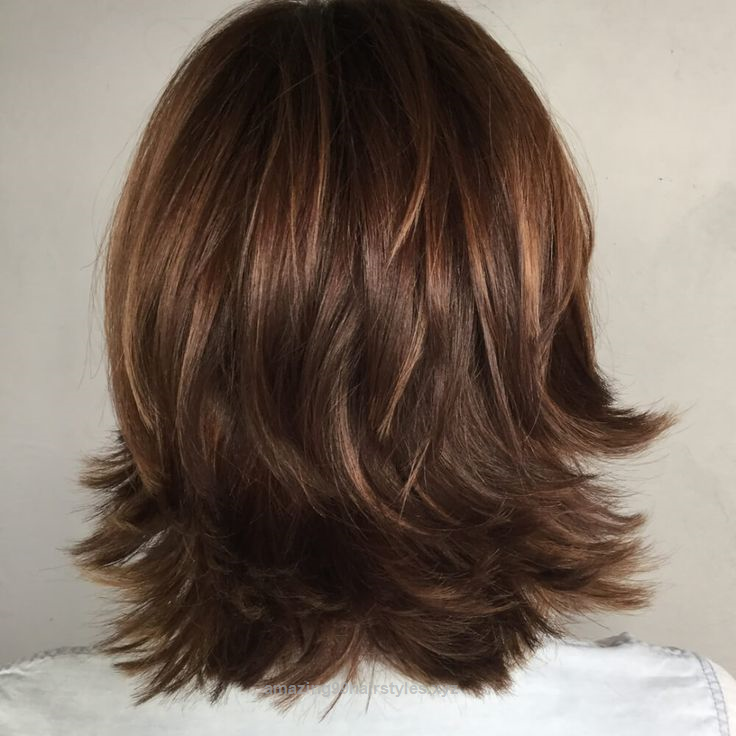 outstanding textured shag hairstyle