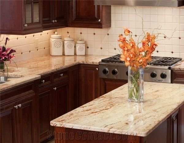 ivory kitchen cabinets what colour countertop ivory chiffon kitchen countertops beige granite 17971