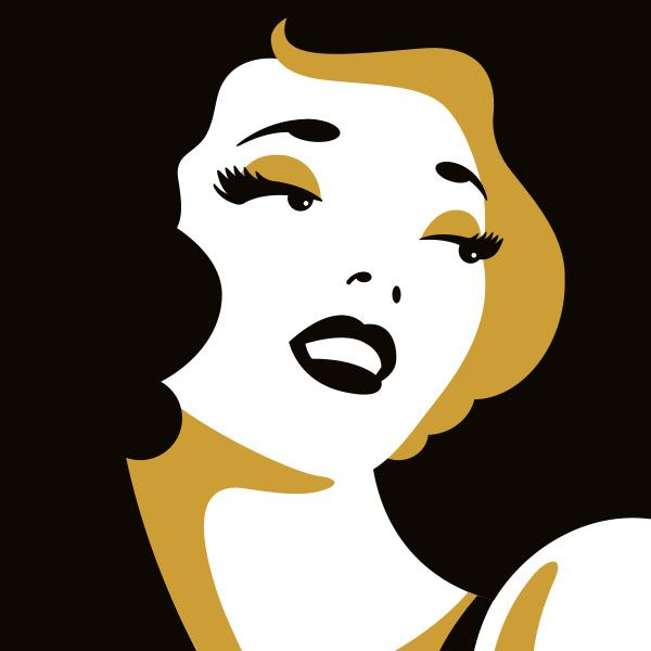 Logo for Deco Dolls Make-Up and Hair Styling - Detail