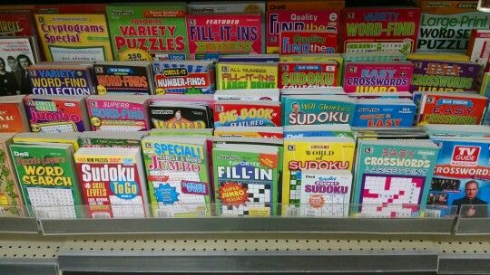 Same Walgreens I Updated And Added Some New Puzzles Word Searches Crosswords Sudoku