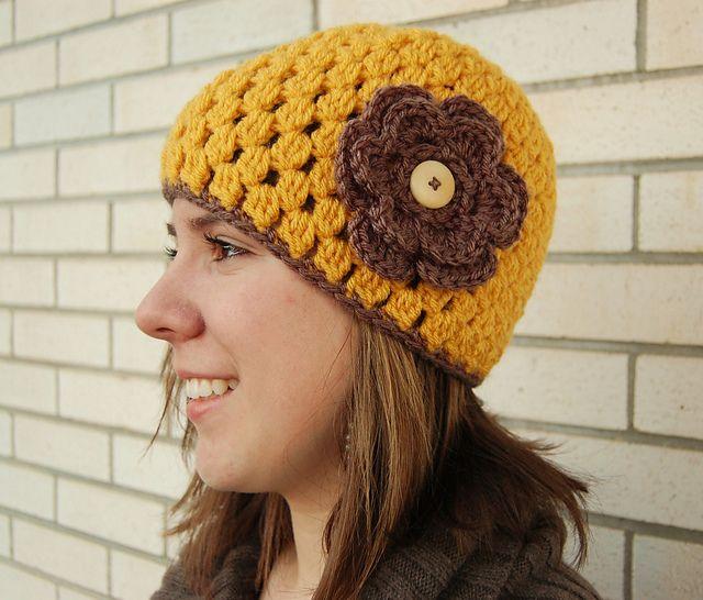 9b9b447207b Ravelry  Jenny Lee Crochet Hat pattern by Jayna Grassel