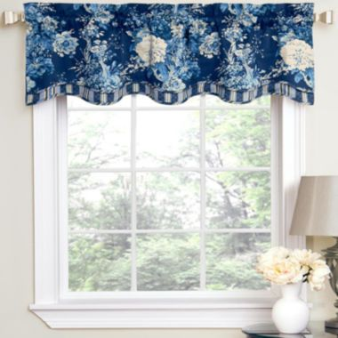 Window Treatment jcpenney valances window treatments : Waverly® Ballad Bouquet Rod-Pocket Tailored Valance | Valances ...