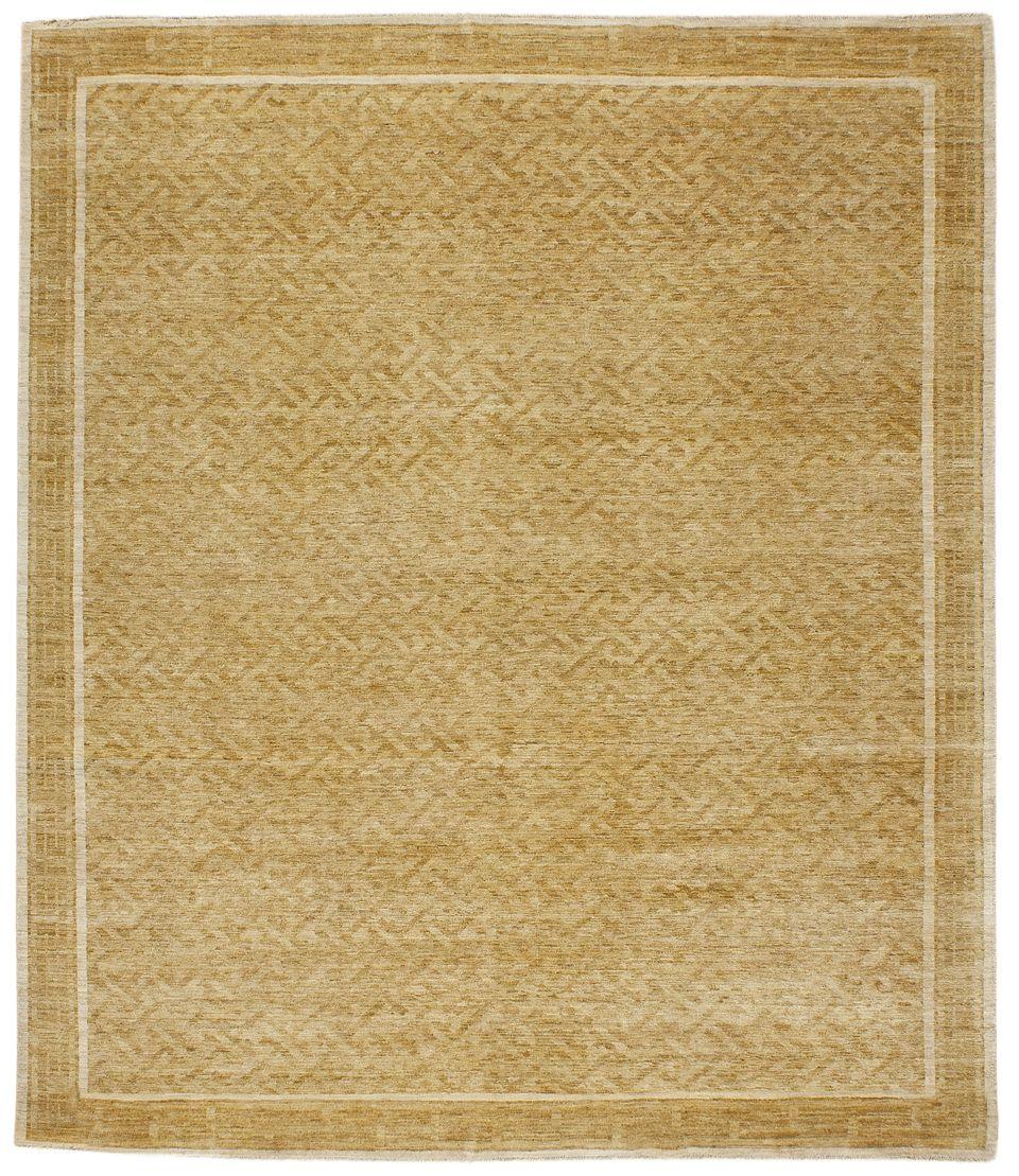 Mardan Asian Fretwork Sand Rug