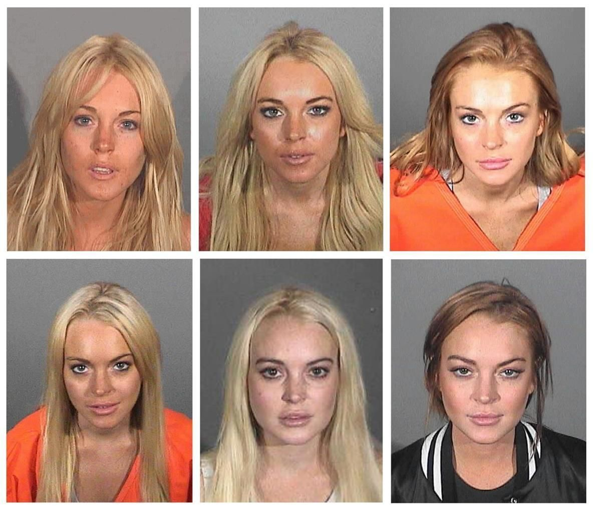 LINDSAY LOHAN MUG SHOTS GLOSSY POSTER PICTURE PHOTO ...