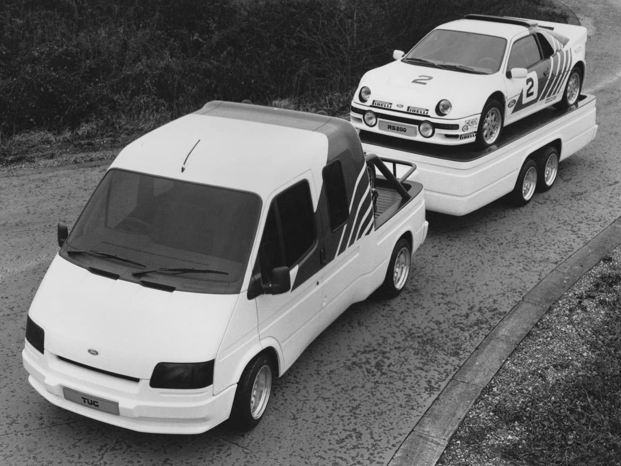 Sic Definemotorsports The 80s Were The Future Ford Transit