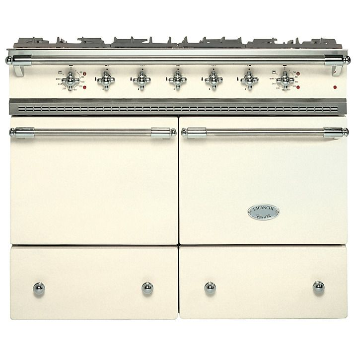 Buy Lacanche Cluny LG1052GCT Dual Fuel Range Cooker, Ivory ...