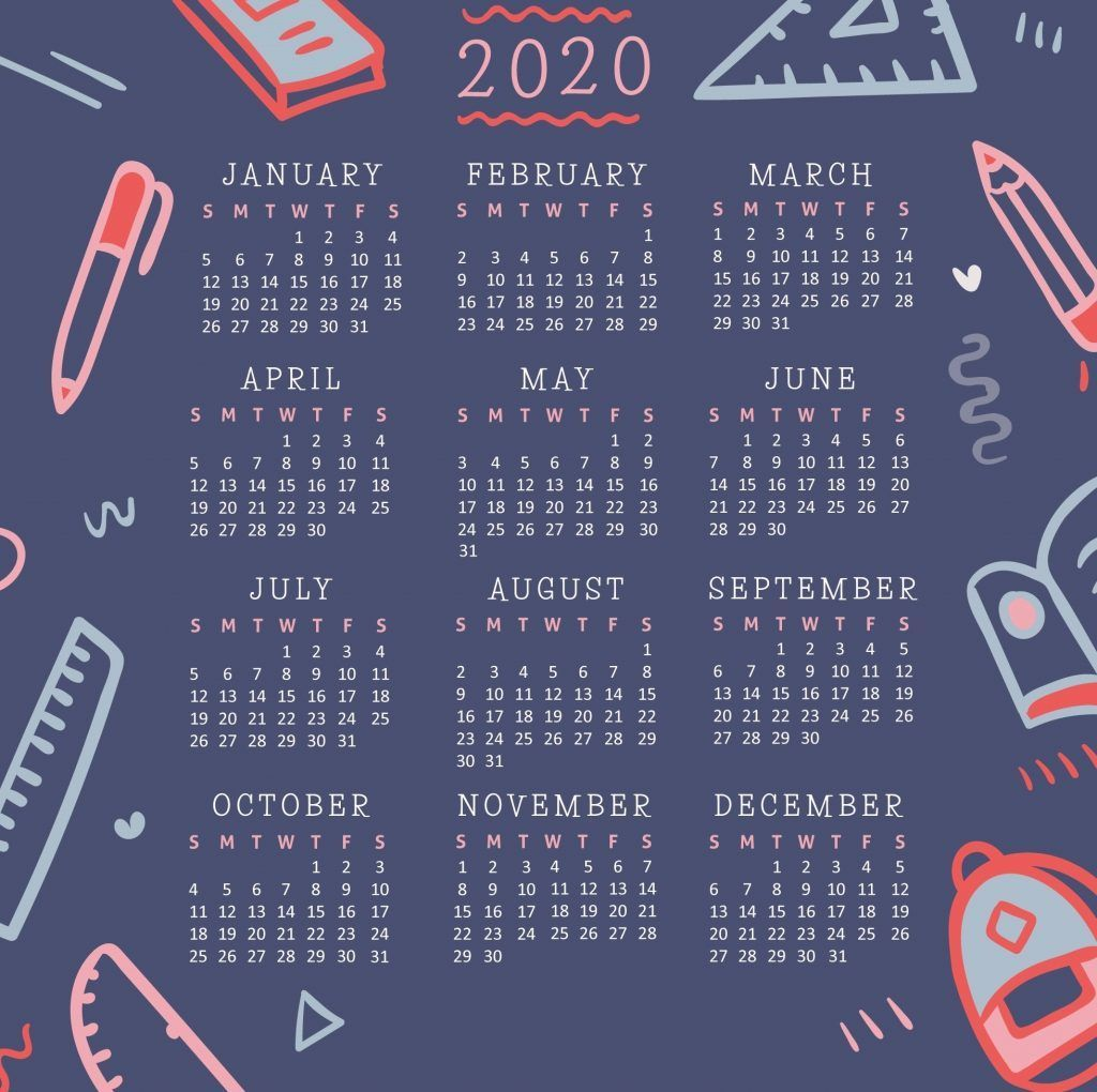 Great No Cost 2020 calendar wallpaper Strategies The fact