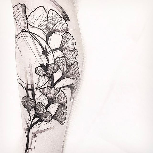 Awesome Ginkgo Design By Friend And Guest Artists Frank