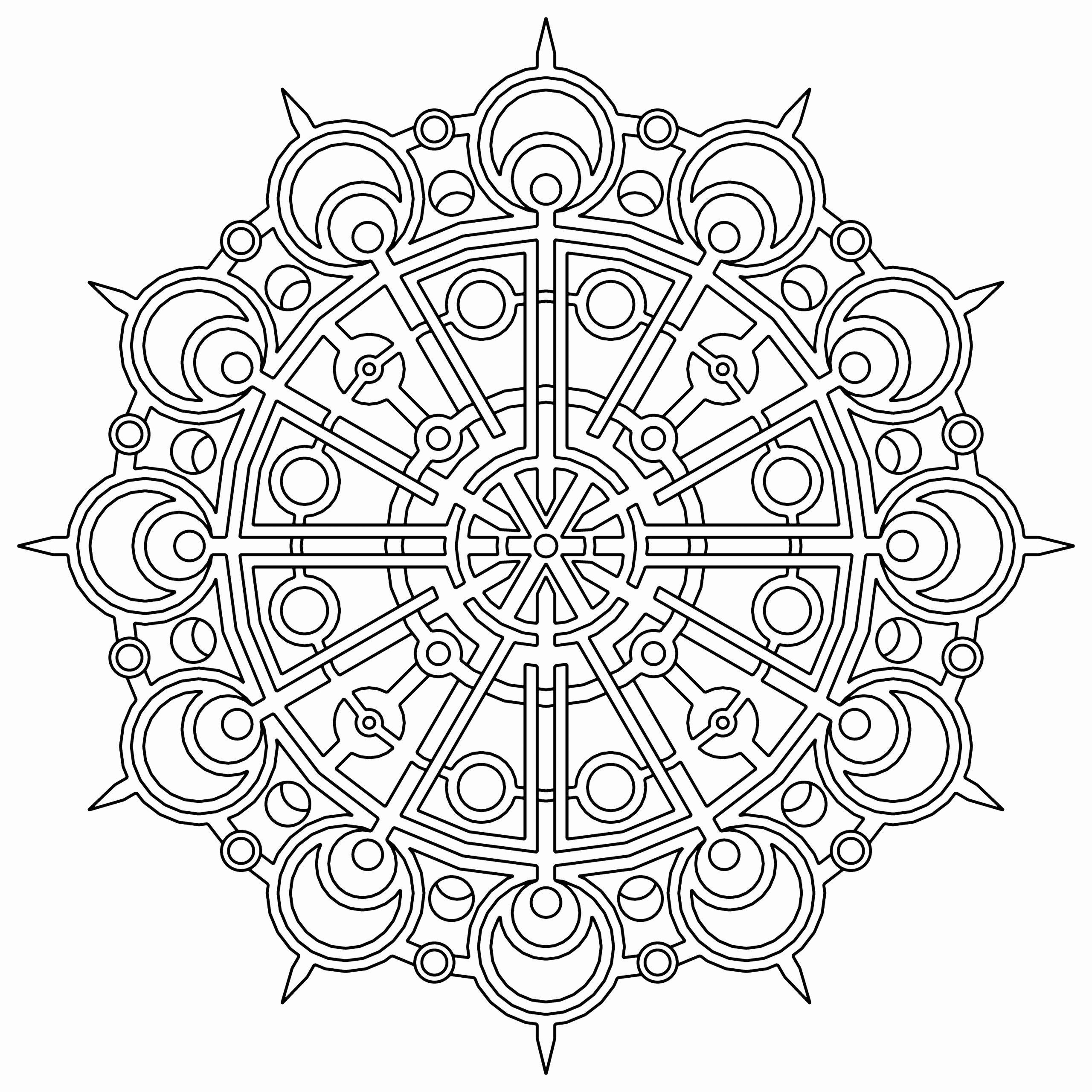 Geometric Coloring Books Luxury Free Printable Geometric Coloring Pages For Kids In 2020 Geometric Coloring Pages Mandala Coloring Pages Mandala Coloring Books