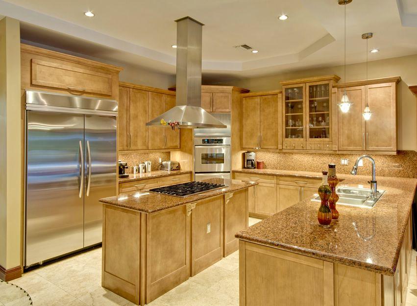 77 Custom Kitchen Island Ideas (Beautiful Designs) | Grey kitchen island,  Gray kitchens and Stove