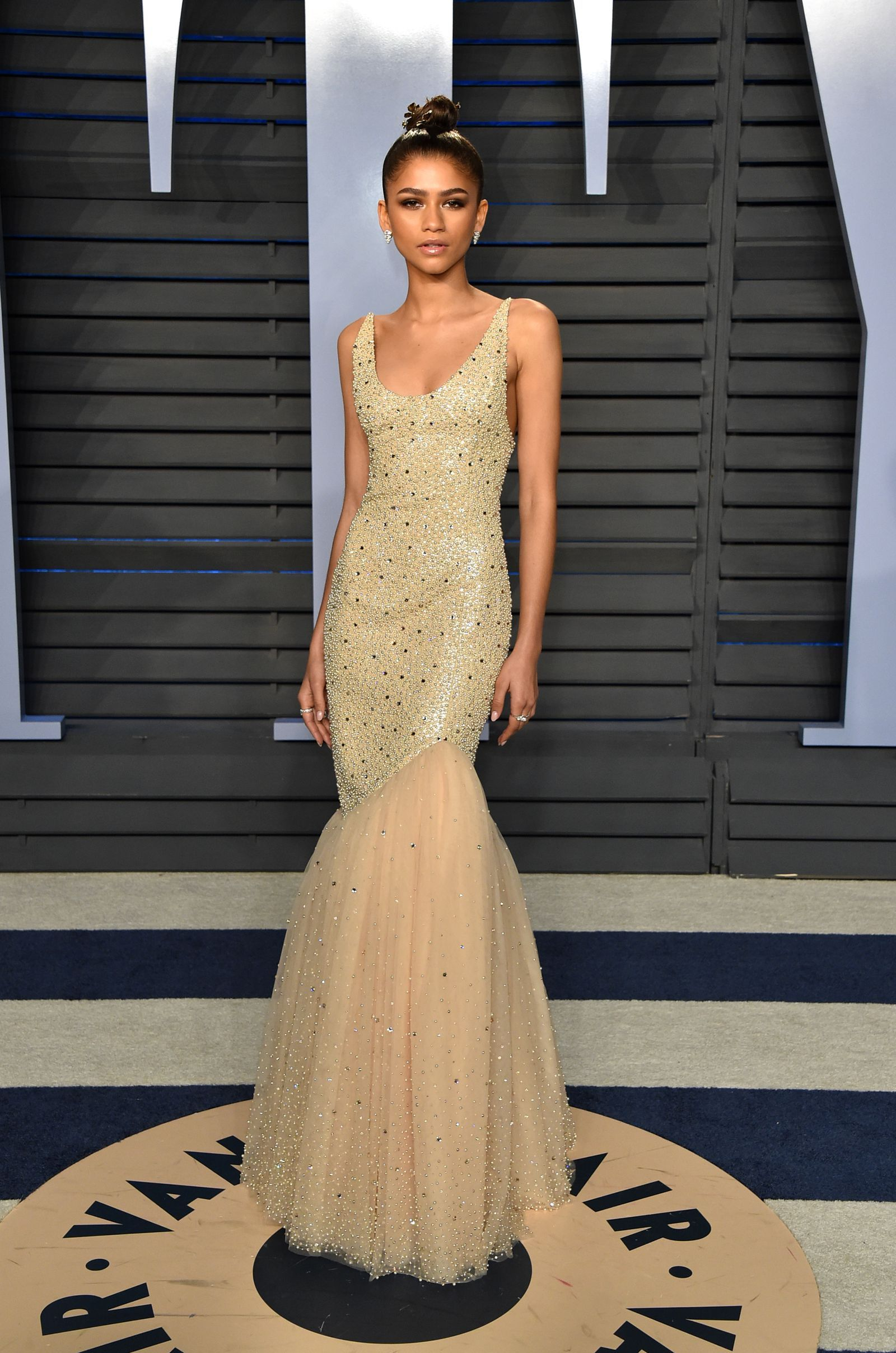 Zendaya - 2018 Oscars Vanity Fair After Party - Photo: Getty Images
