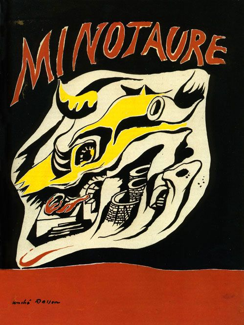 "Masson; Front cover of ""Minotaure"", the artistic and intellectual review created and published by Skira from 1933 to 1939."