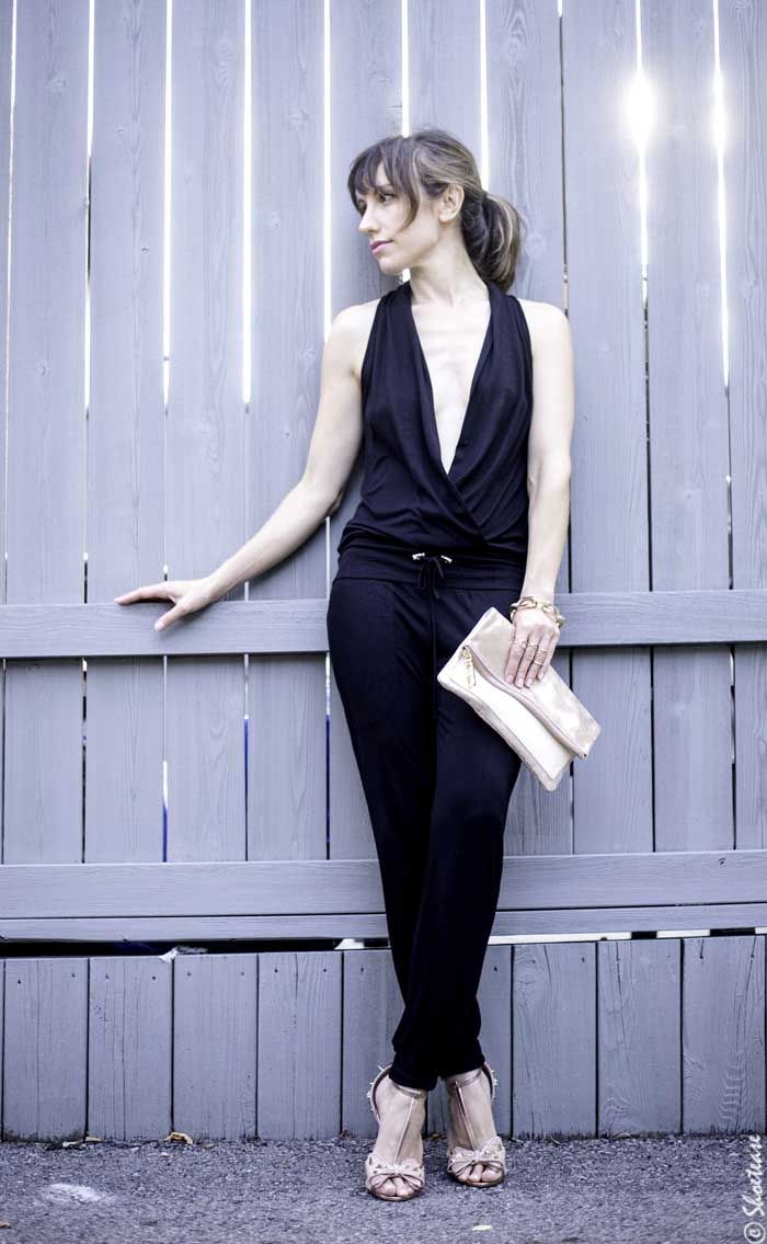 How To Dress Up A Black Jumpsuit For Wedding
