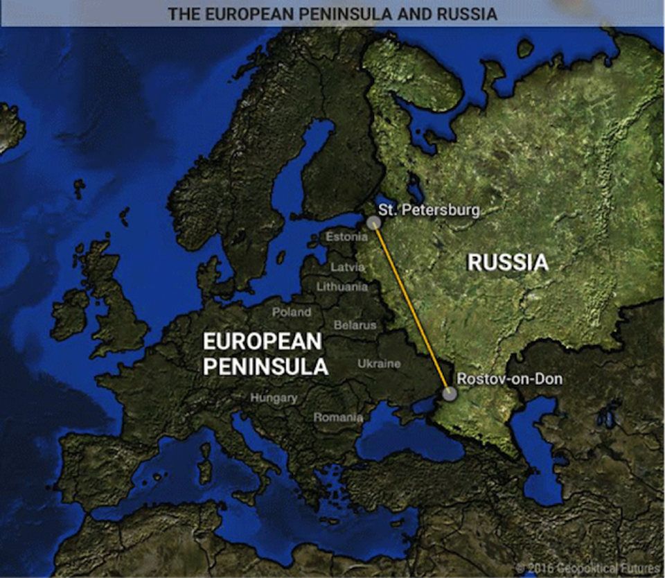 10 Maps That Explain Russia S Strategy Strategy Map Map Russia