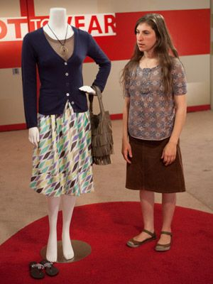 Mayim Bialik Learns What Not To Wear Blazer Outfits Curvy Outfits Outfits