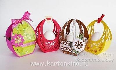 Упаковка для пасхальных яиц - Декор своими руками ...