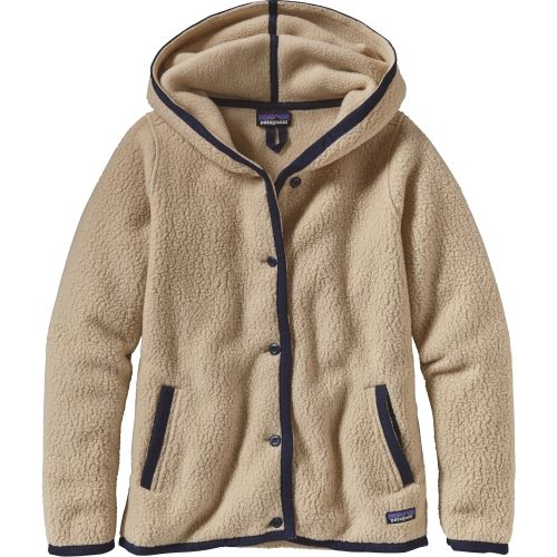 324619bfba12d Patagonia Women s Shearling Fleece Hooded Cardigan
