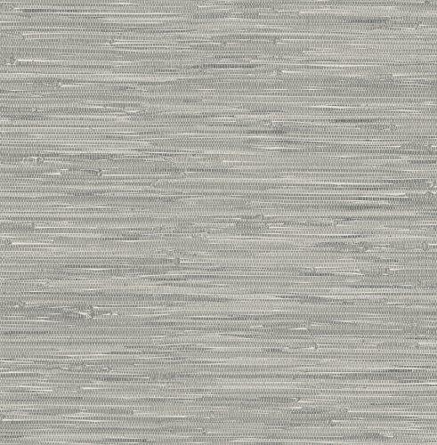 Robot Check Grasscloth Wallpaper Nuwallpaper Peel And Stick Wallpaper