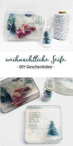Weihnachtliche Seife selber machen #weihnachtsgeschenkeselbermachen