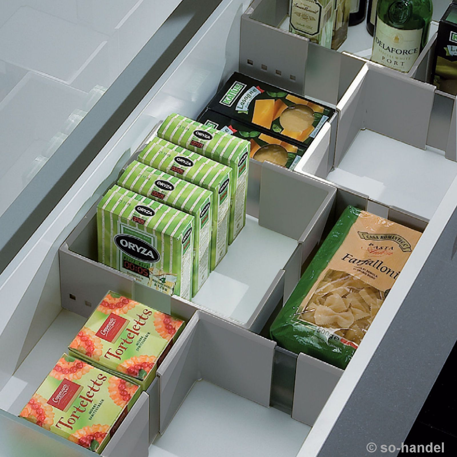 Cuisioflex Organisationsrahmen Schubladenteiler Schubladentrenner Schubladenteiler Schubladen Schubladen Organizer
