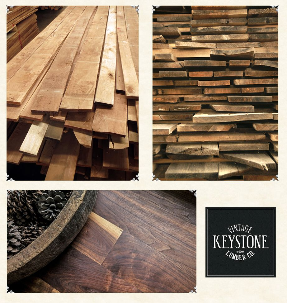 Use vintage lumber flooring in your home from Keystone Vintage Lumber in Lebanon, PA!  It's beautiful and long-lasting.