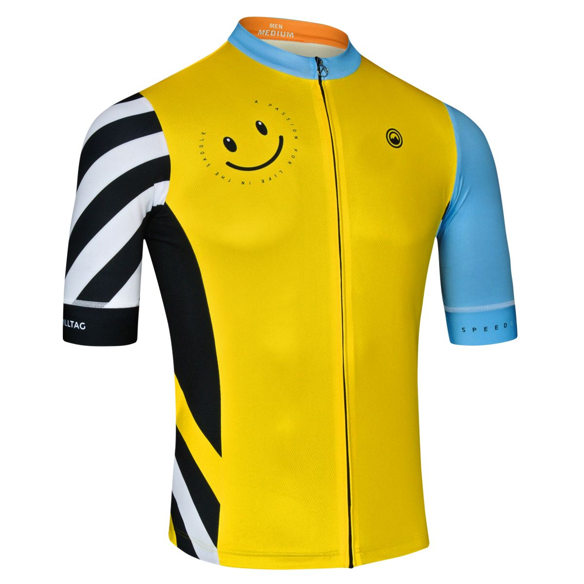 Hacienda Men Jersey - Short Sleeve Cycling Jersey by Milltag
