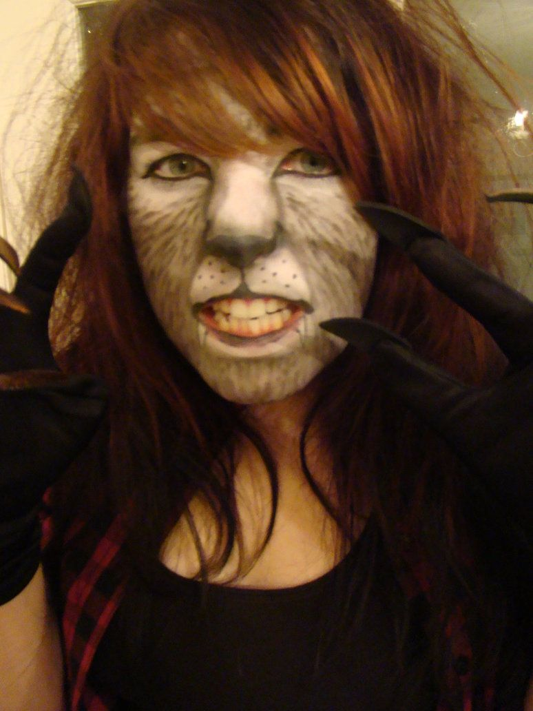 Werewolf makeup process | SFX | Pinterest | Werewolf makeup ...