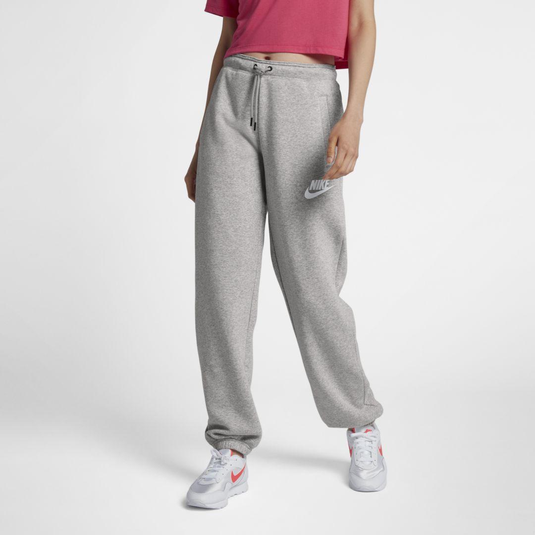 Nike Sportswear Rally Fleece Women's Pants Size XS (Grey ...