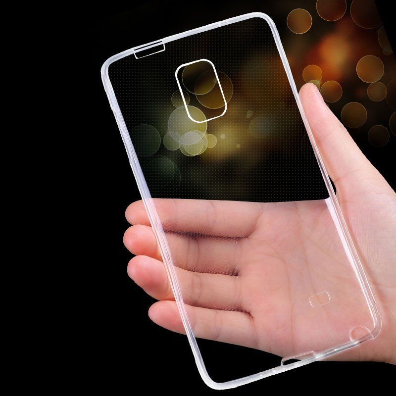 Note 4 Case Luxury Ultra Thin Crystal Clear Soft TPU Gel