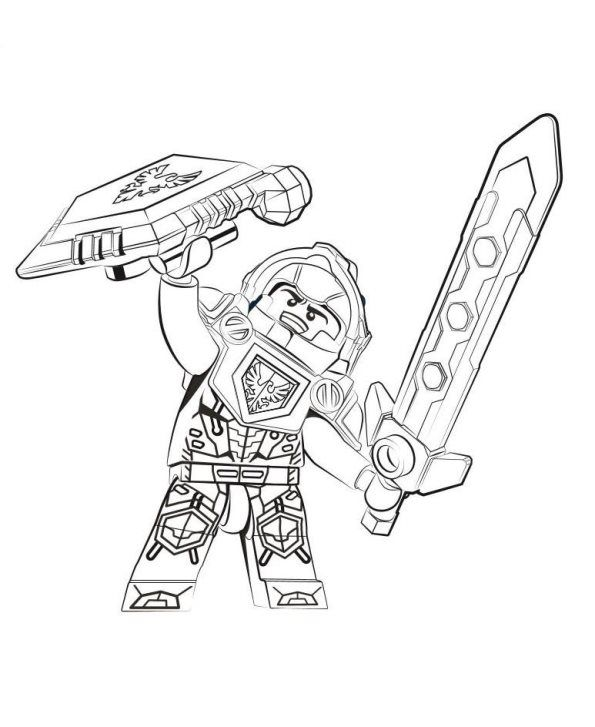 Kleurplaat Van Clay Lego Coloring Pages Lego Coloring Superhero Coloring