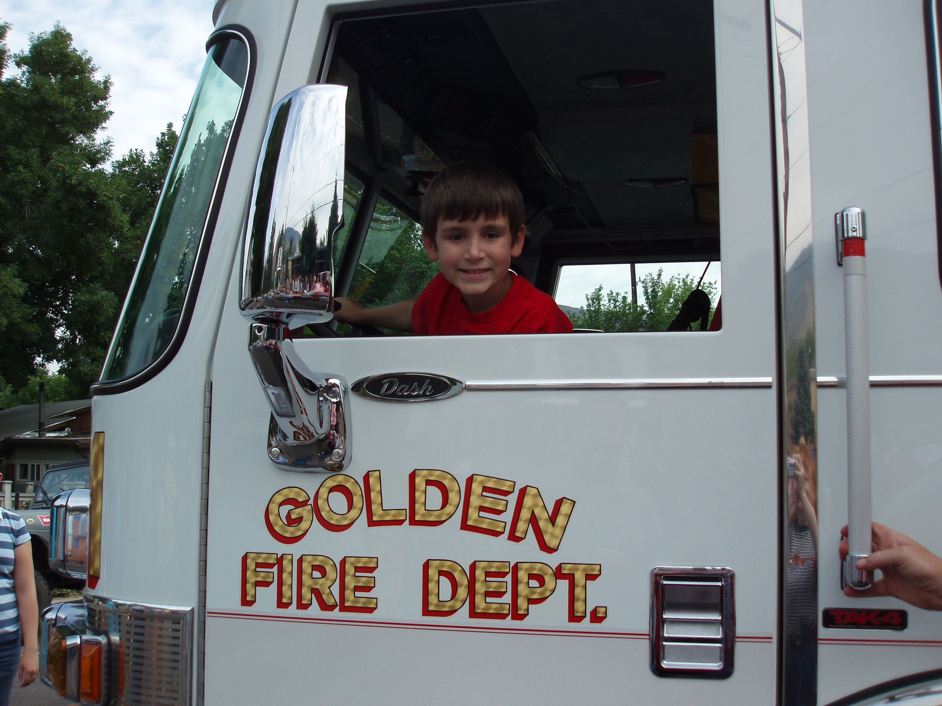 In Uncle Matt's Fire Engine
