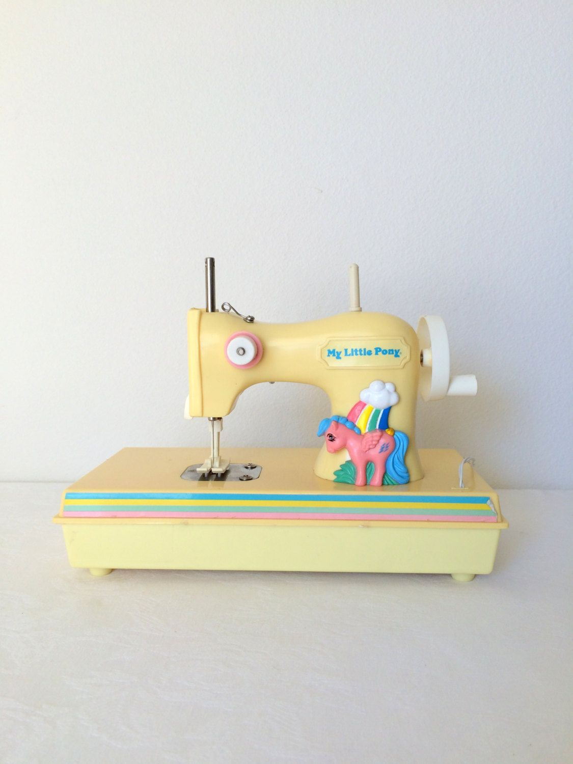 My Little Pony Vintage Firefly Sewing Machine Collectible