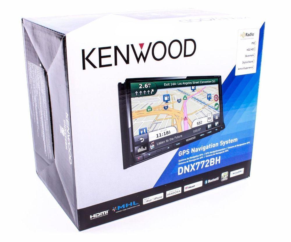 Kenwood DNX772BH 2-DIN Bluetooth DVD Receiver 6.95
