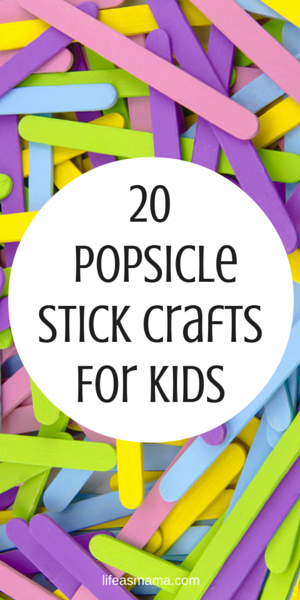 Photo of 20 Popsicle Stick Crafts For Kids