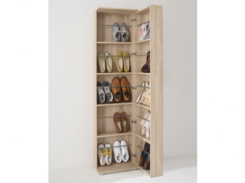 Meuble A Chaussures Walker 1 Porte 1 Miroir Chene Meuble Chaussure Solutions De Rangement Mobilier Maison