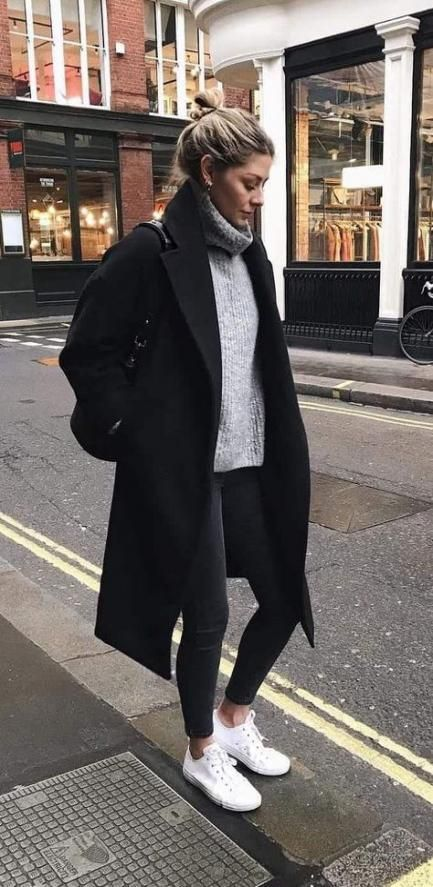 44+ Ideas Sneakers Outfit Fall Winter Chic For 2019