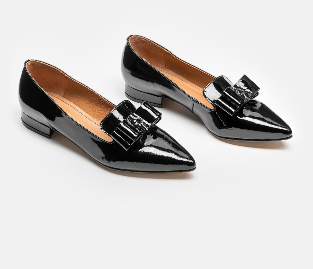Polbuty Damskie Czarne 33944 L0 00 Z Kolekcji 2019 Sklep Internetowy Kazar Loafers Shoes Fashion