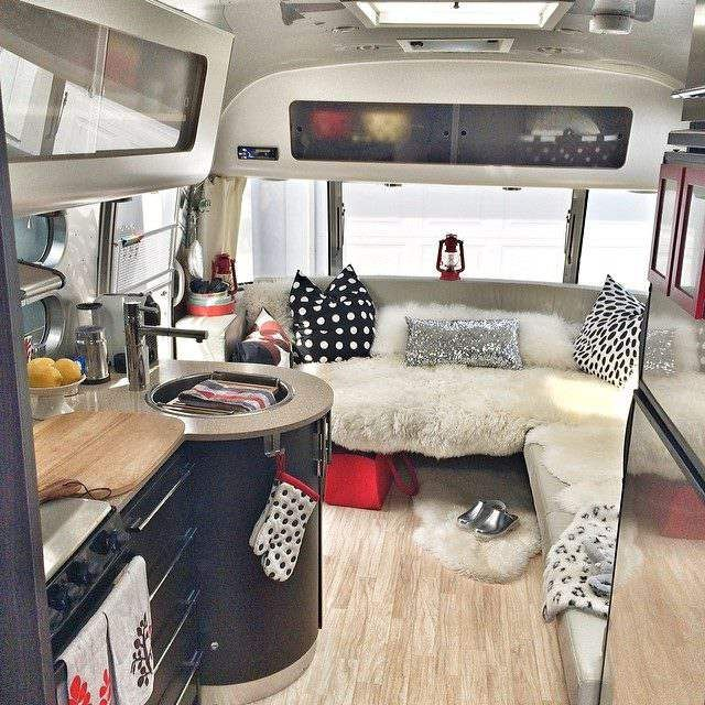 Great 13 Modern Airstream Interiors E
