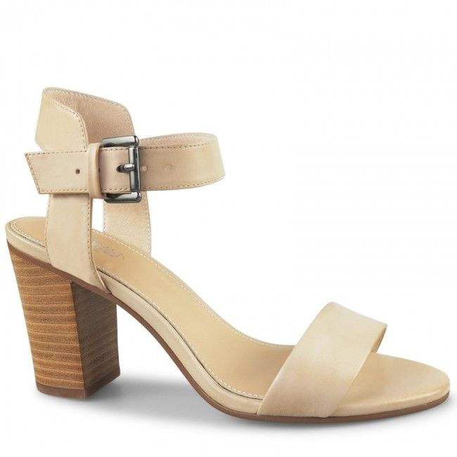 Orley Sandal | Nude Heels | Wittner Shoes | Walking tall, Sandals ...