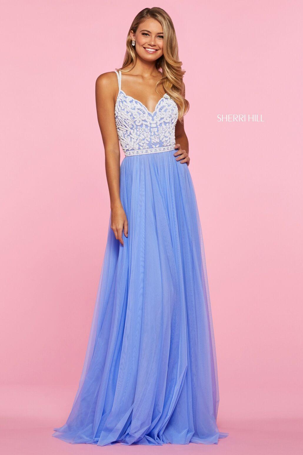 Sherri Hill 53556 Sherri Hill Dresses Periwinkle Prom Dress Sherri Hill Prom Dresses [ 1546 x 1030 Pixel ]